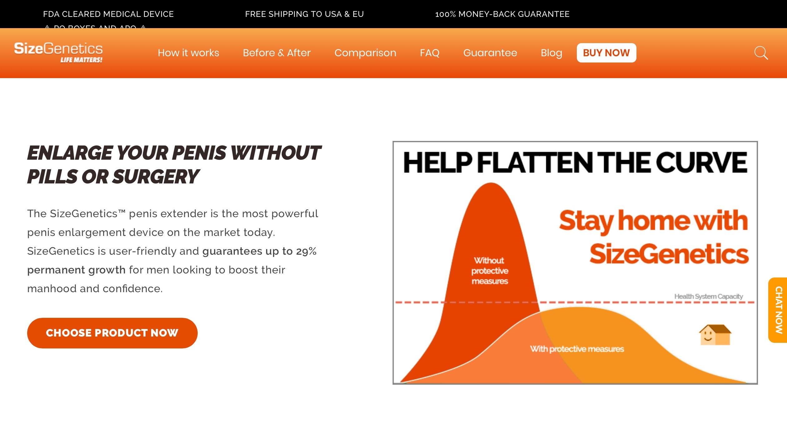 size genetics website